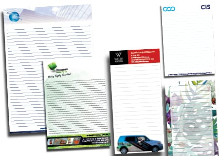 Notepads and Message Pads