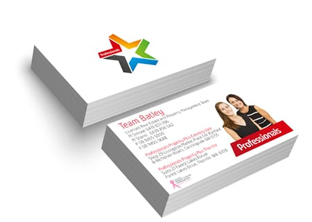 Business card printing and design in perth ateam printing previousnext reheart Image collections