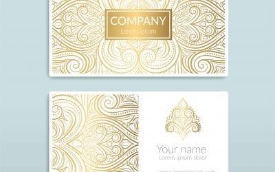 Scodix Business Card Design Ideas
